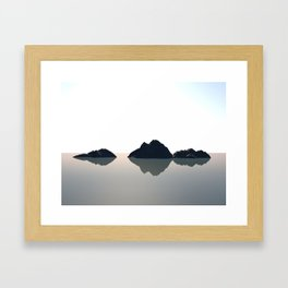 Islands Framed Art Print