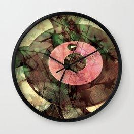 Retro Dance Party Wall Clock