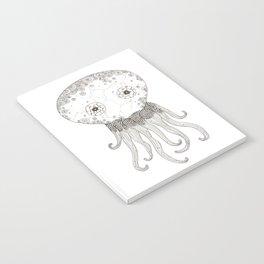 Cracked Octopus Notebook