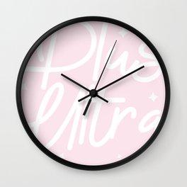 plus ultra! Wall Clock