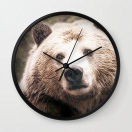 Jealous Bear Wall Clock