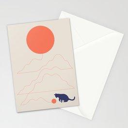 Cat Landscape 41 Stationery Cards