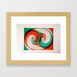 Wave 2 Framed Art Print