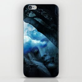 She Sleeps By Annie Zeno iPhone Skin