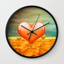 Heartrain Wall Clock