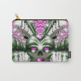 Mowhawk Skull 2 Carry-All Pouch