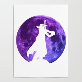 Anime Manga Mihawk Moon Inspired Shirt Poster
