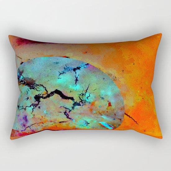 Cool and Confident Rectangular Pillow