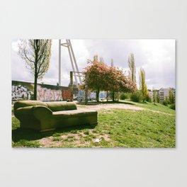 Mauerpark Afternoon - Berlin Canvas Print