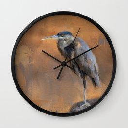 River Lady Wall Clock