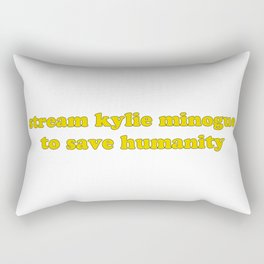 KYLIE FOR HUMANITY Rectangular Pillow