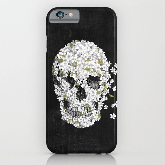 A Beautiful Death - mono iPhone & iPod Case