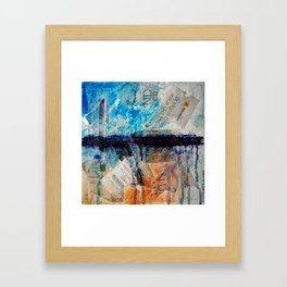Drawing the Line Framed Art Print