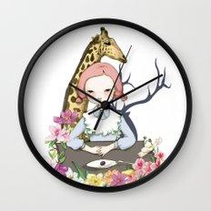 Jenny Eat Breakfast Wall Clock