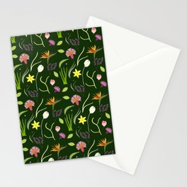 Nocturnal Spring Fantasy Stationery Cards