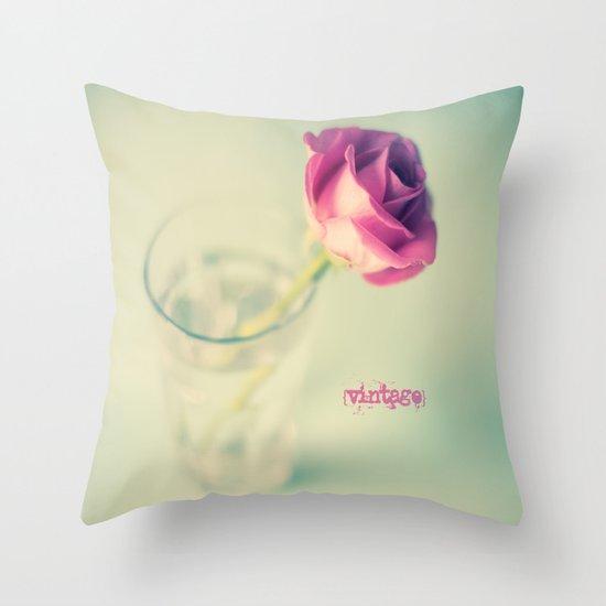{Vintage} Throw Pillow