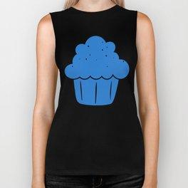 Cupcake (Blue) Biker Tank