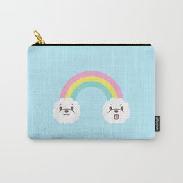 Rainbow Bichon Carry-All Pouch