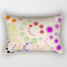Abstract Composition 629 Rectangular Pillow