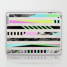 Crazy Lines - Pop Art, Geometric, Abstract Style Laptop & iPad Skin