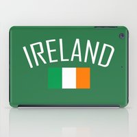 ruben ireland iPad Cases featuring Ireland by Earl of Grey