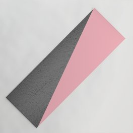 Concrete vs pink Yoga Mat
