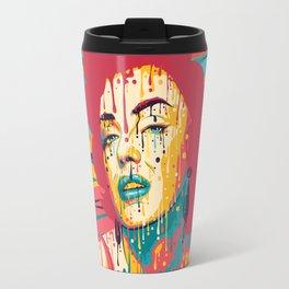 Marylin Psychedelic Travel Mug