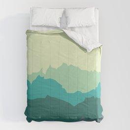 Mountain Range Comforters