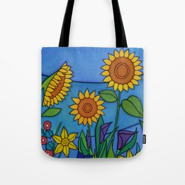 Sunflower Dance Tote Bag