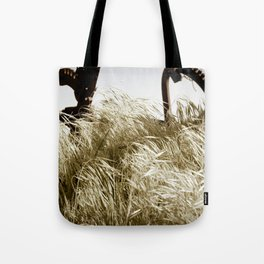 Tall Grass in the Wind Tote Bag