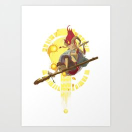Childrens of the Stars: Aries Art Print
