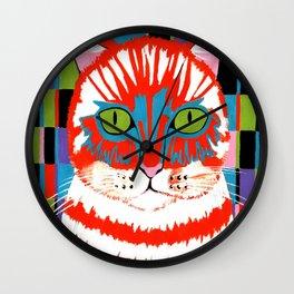 Bad Cattitude - Cats Wall Clock