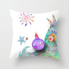 Hate me for it  Throw Pillow