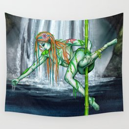 Pole Creatures - Water Nymph Wall Tapestry