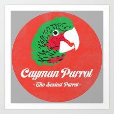 Cayman Parrot Art Print