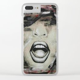 YELL Clear iPhone Case