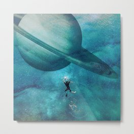 Uncharted Waters Metal Print