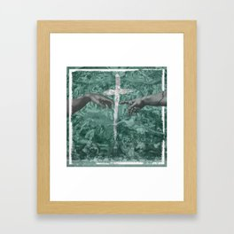 Creation of Man Framed Art Print