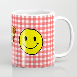 Beer Pizza Happiness Coffee Mug