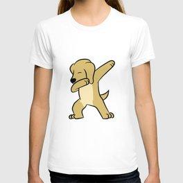 Dabbing Labrador Retriever Dog Labrador Dab T-shirt