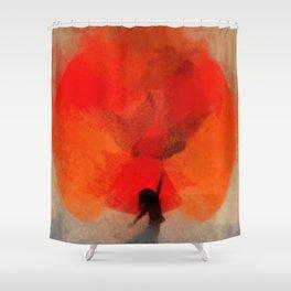 umbrellaliensunshine: atomicherry spring! Shower Curtain