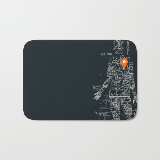 Travel With Me Bath Mat