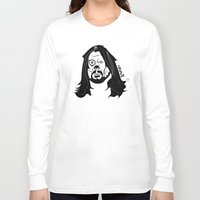dave grohl Long Sleeve T-shirts featuring Grohl XrayT by Xray T