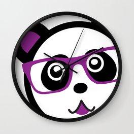 Panda Nerd Wall Clock