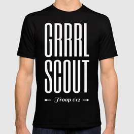 GRRRL SCOUT THREADS T-shirt