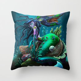 River Mumma Throw Pillow