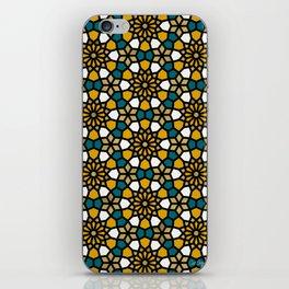 Persian Mosaic – Marigold Palette iPhone Skin