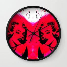 Marilyn Monroe. Wall Clock