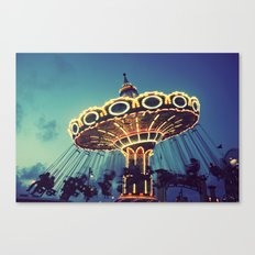 Blue Hour at the Carnival Canvas Print
