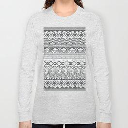 Aztec pattern 004 Long Sleeve T-shirt